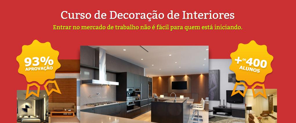 curso decoracao de interiores niteroiCurso de Decoração de