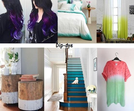 Dip dye? A sensação na pintura dos móveis!