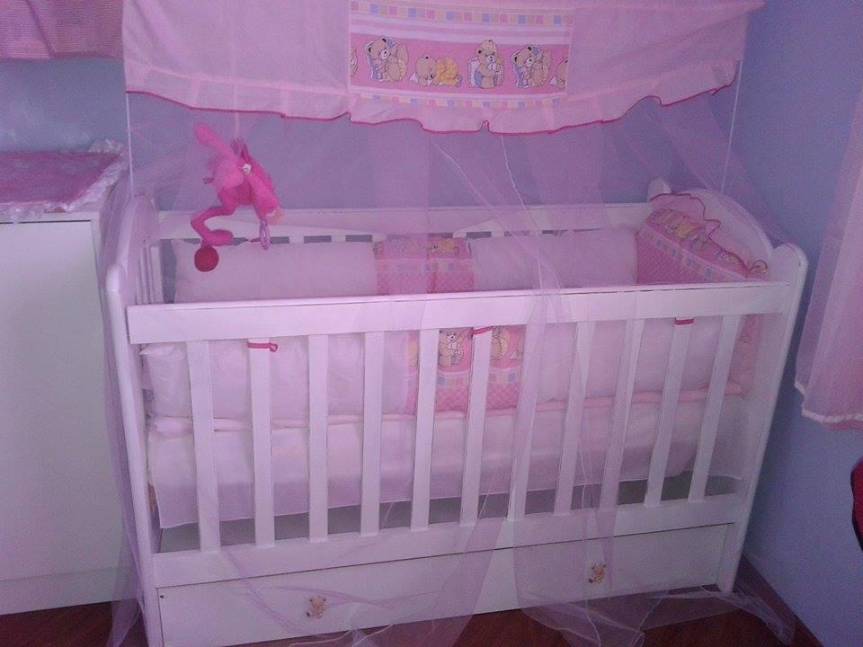 Decoração em quarto de bebê.