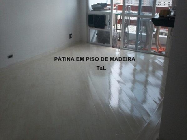 patina em piso