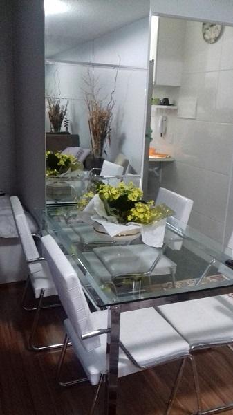 Espelhos Para Sala De Jantar Fotos ~ Que tal um espelho na sala de jantar? Veja essas dicas de decoração