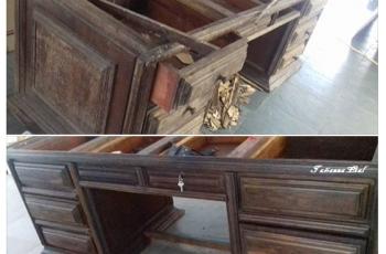 Como restaurar móveis antigos